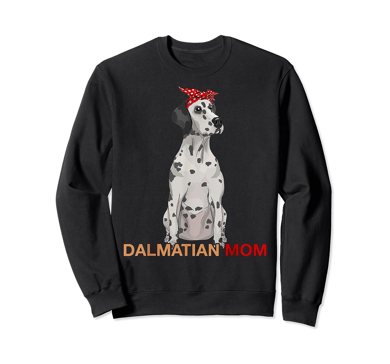 Dalmatian Mom Bandana Dalmatian Dog Lovers Gifts Shirts Crewneck Sweater