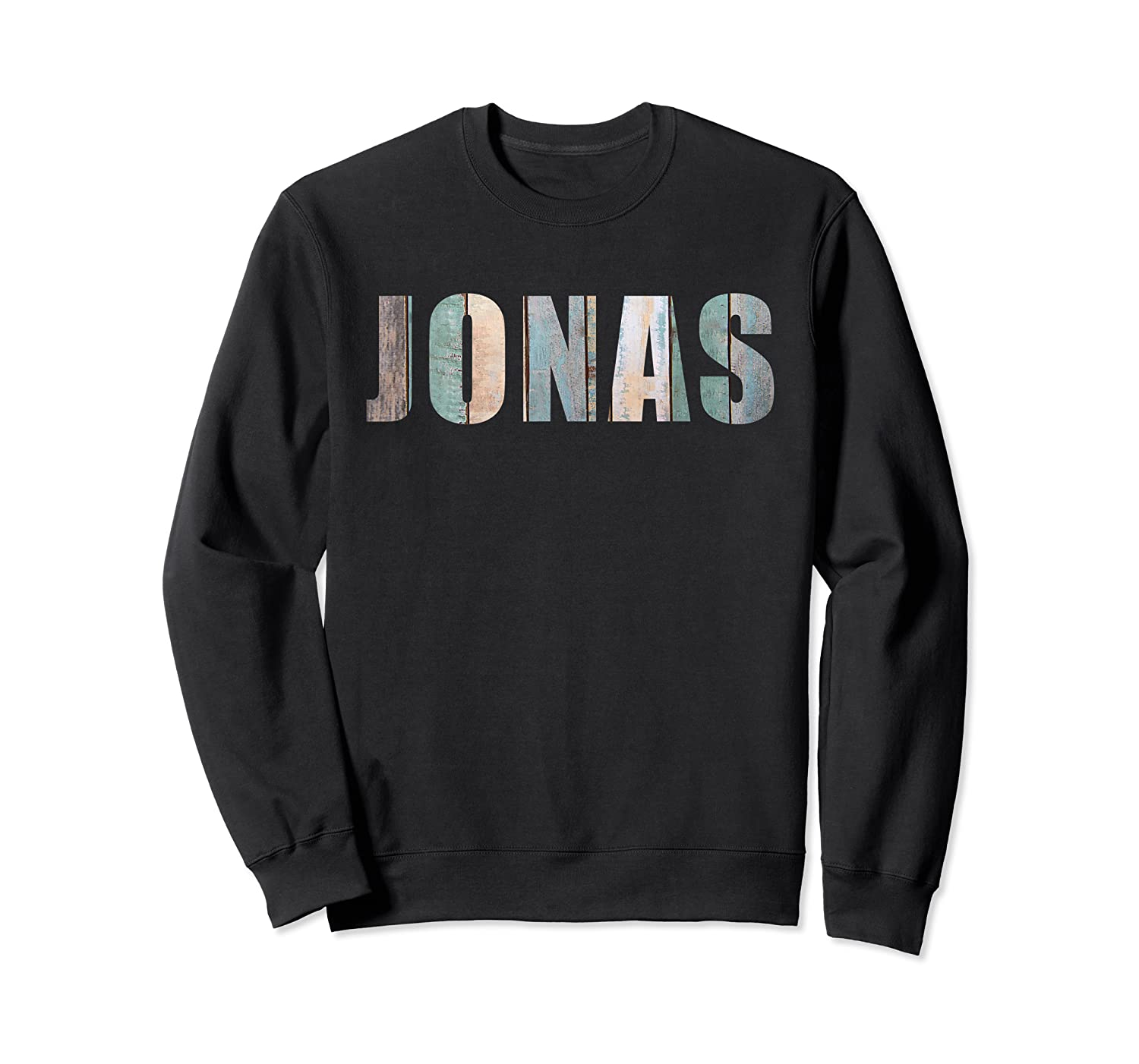 Jonas First Given Name Pride Funny Cool T Shirt Crewneck Sweater