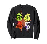 8645 Impeach Trump Anti Trump 8645 T Shirts Sweatshirt Black