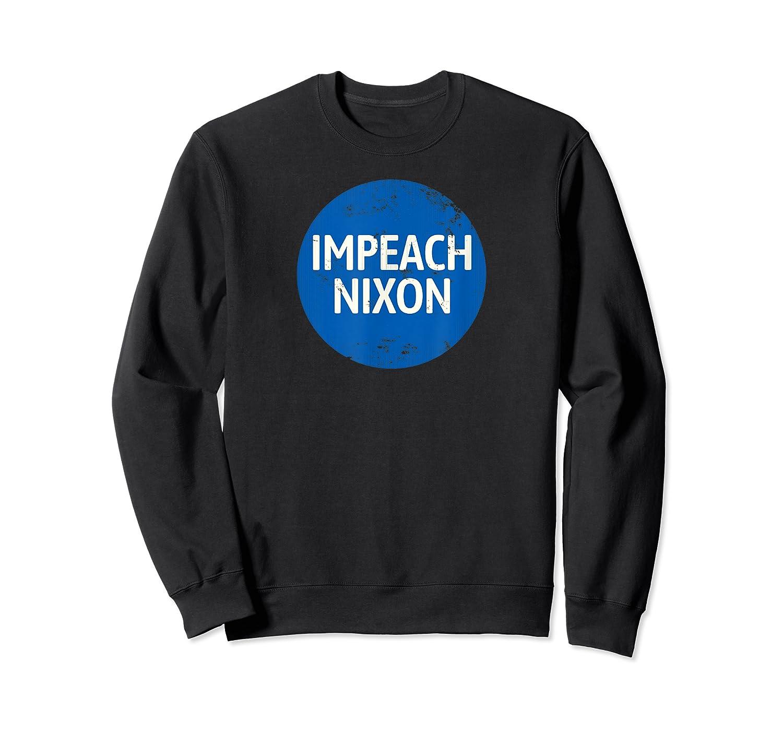 Impeach Nixon T Shirt Vintage Retro Funny Cool Graphic Trump Crewneck Sweater