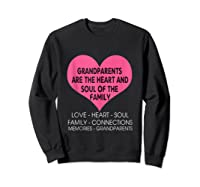 Grandparents Are The Heart And Soul Of The Family Tshirt Tank Top Sweatshirt Black