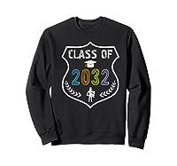 2019 Class Of 2032 Grow With Graduation First Day Of School Shirts Sweatshirt Black