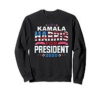 Kamala Harris For President 2020 Patriotic Election Gift Shirts Sweatshirt Black