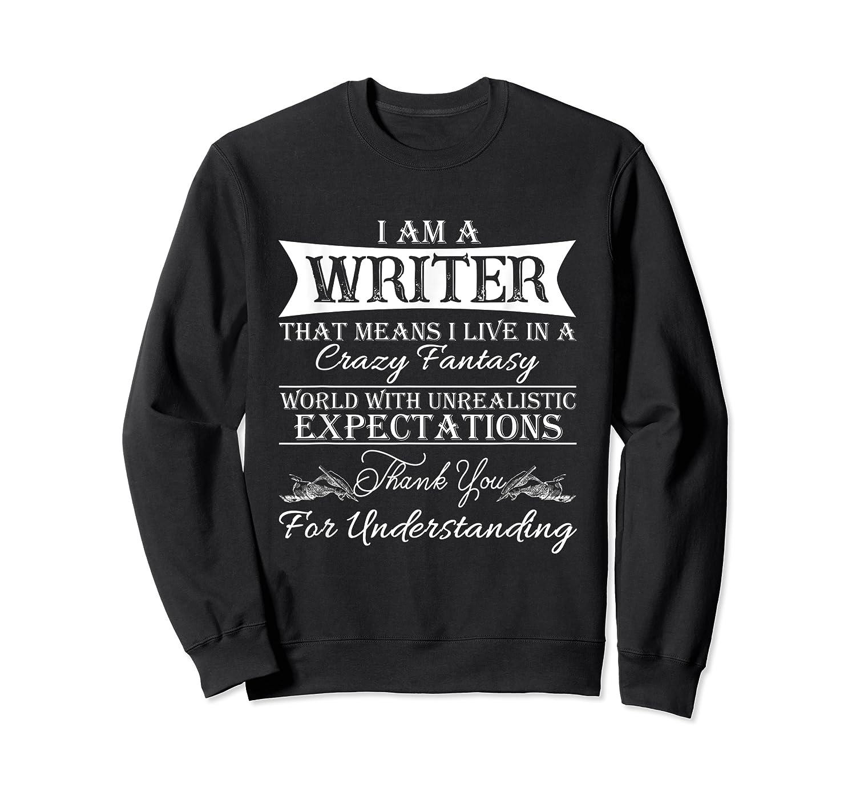 I M A Writer Gift For Authors Novelists Literature Shirt Crewneck Sweater