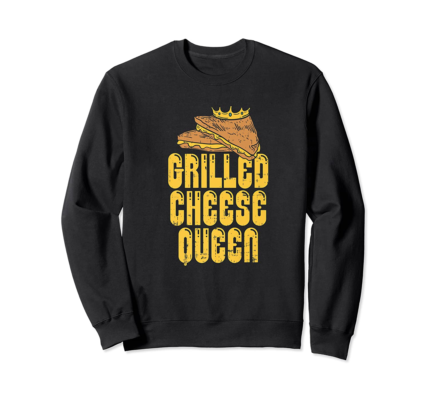 Gift For The Queen Grilled Cheese Maker Of The House Premium T Shirt Crewneck Sweater