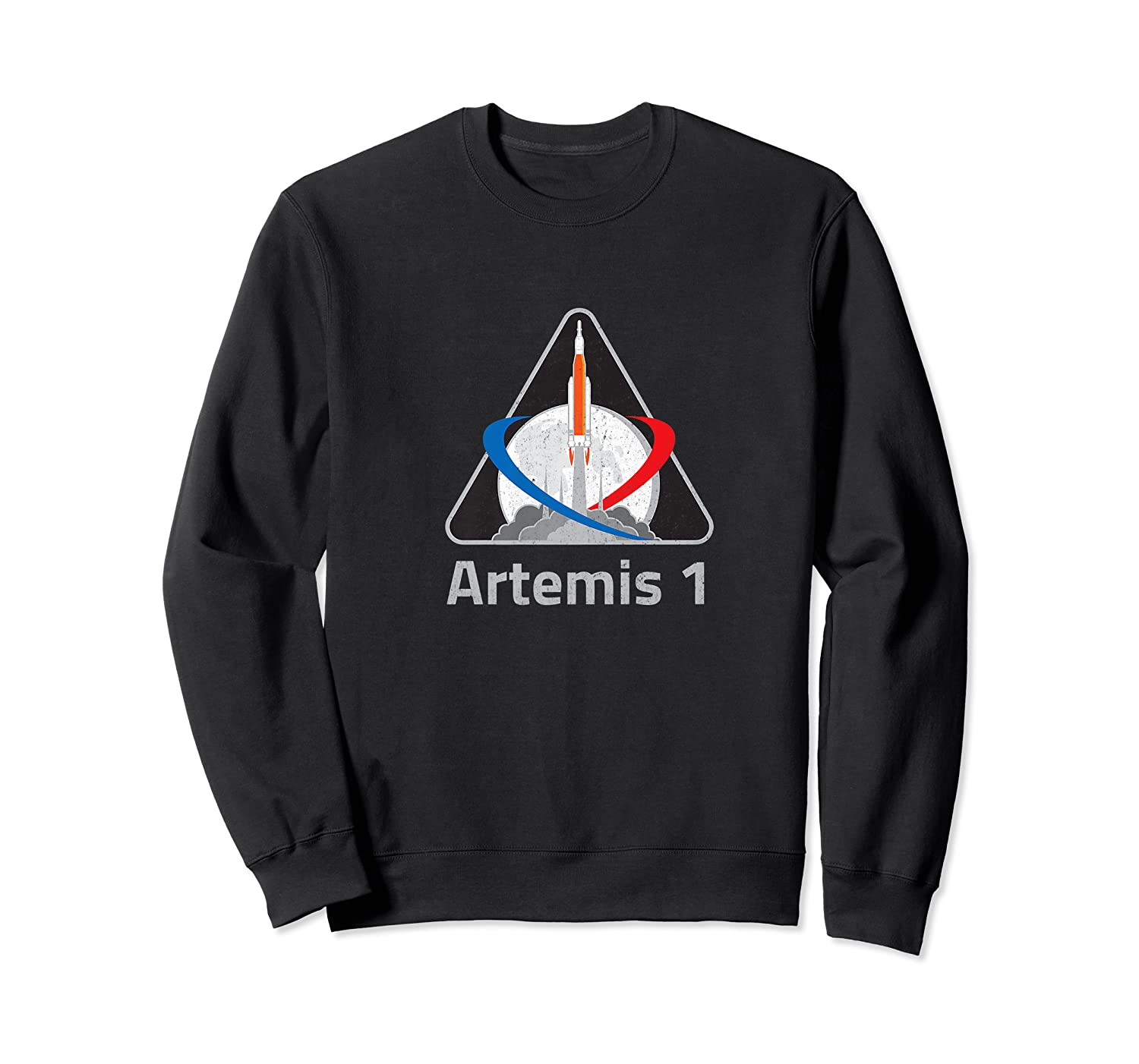 Artemis 1 Patch We Are Going Moon To Mars 2024 Vintage Shirts Crewneck Sweater
