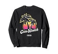 Coco Beach Florida City Native S Gift Shirts Sweatshirt Black