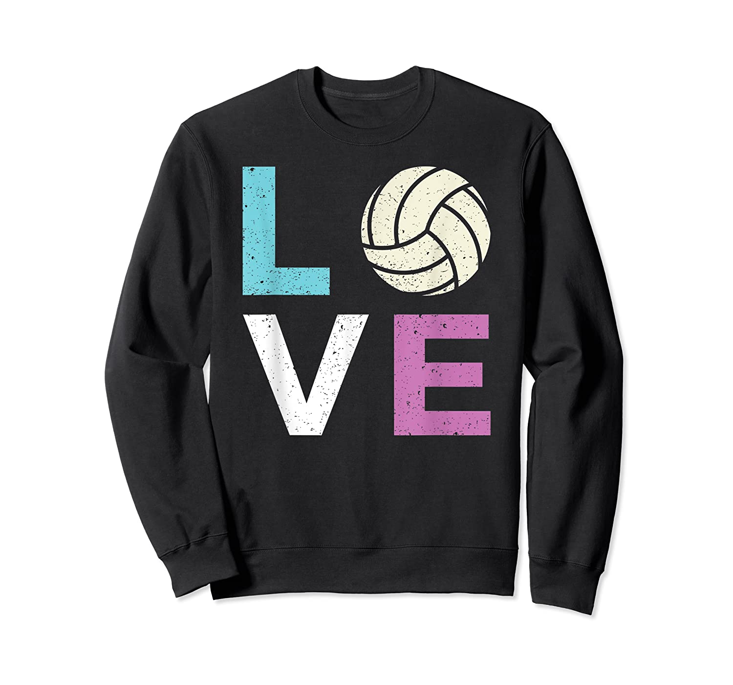 And A Volleyball Shirts Crewneck Sweater