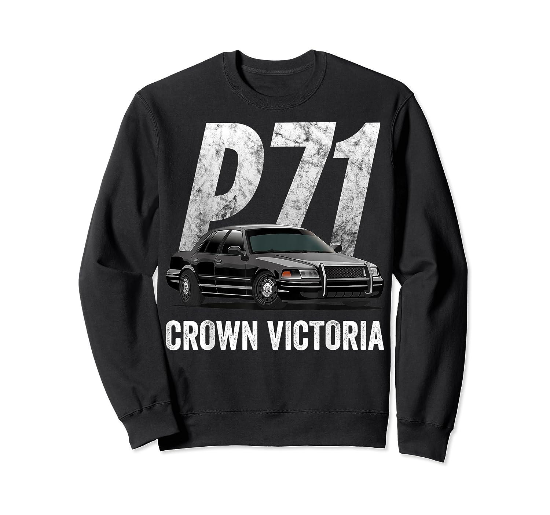 Police Car Crown Victoria P71 Shirt Crewneck Sweater