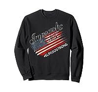 El Paso Strong Impeach Trump 45 Anti President American Map Shirts Sweatshirt Black