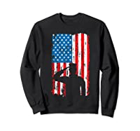 Veteran S Day Patriotic Usa Flag We Salute You Veterans T Shirt Sweatshirt Black