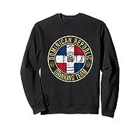 Funny Beer Dominican Republic Drinking Team Casual T-shirt Sweatshirt Black