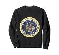 Fake Presidential Seal 45 Es Un Titere Puppet Trump Shirts Sweatshirt Black