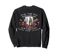 Times Square New York City Visit Shirts Sweatshirt Black