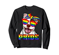 Pit Bull Pride- Gay Pride Shirt 2018 T-shirt For  Sweatshirt Black