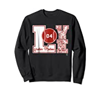 Yadier Molina Love Block T-shirt - Apparel Sweatshirt Black