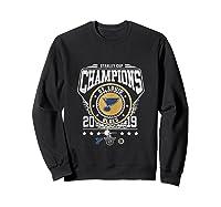 Best Gift Stanley St-louis Cup Blues Champions 2019 Tank Top Shirts Sweatshirt Black