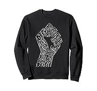 Resist Fist Anti Trump Impeach Trump T Shirt Sweatshirt Black