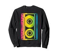 Cassette Tape 80s 90s Vintage Retro Funny Halloween Shirts Sweatshirt Black