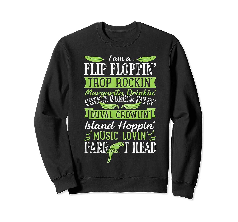 Parrot Shirt - Parrot Head Tshirts Crewneck Sweater