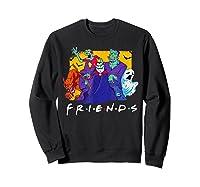 Friends Halloween Horror T Shirt Sweatshirt Black