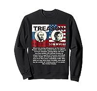 Trump Putin Treason T Shirt Impeach 45 Code 2381 Treason Sweatshirt Black