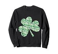 Shamrock T Shirt Saint Patricks Day Sweatshirt Black