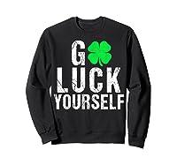 Funny Saint Patrick S Day T Shirt For Adults  Sweatshirt Black