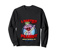 Peanut Airway Heights Wa T Shirt Sweatshirt Black