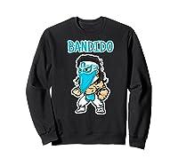 Feel Ink Bandido Bandit Lucha Libre Mexican Pro Wrestler Premium T Shirt Sweatshirt Black