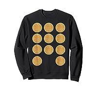 Eleven 11 Waffles T Shirt Tee Sweatshirt Black