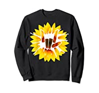 Share Love With Sunflower For And Shirts Sweatshirt Black