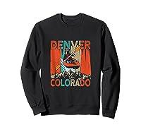 Denver Colorado Water River Rapids Kayaking Shirts Sweatshirt Black