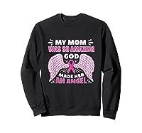 Mother S Memory Breast Cancer Awareness Month Pink Ribbon Tank Top Shirts Sweatshirt Black