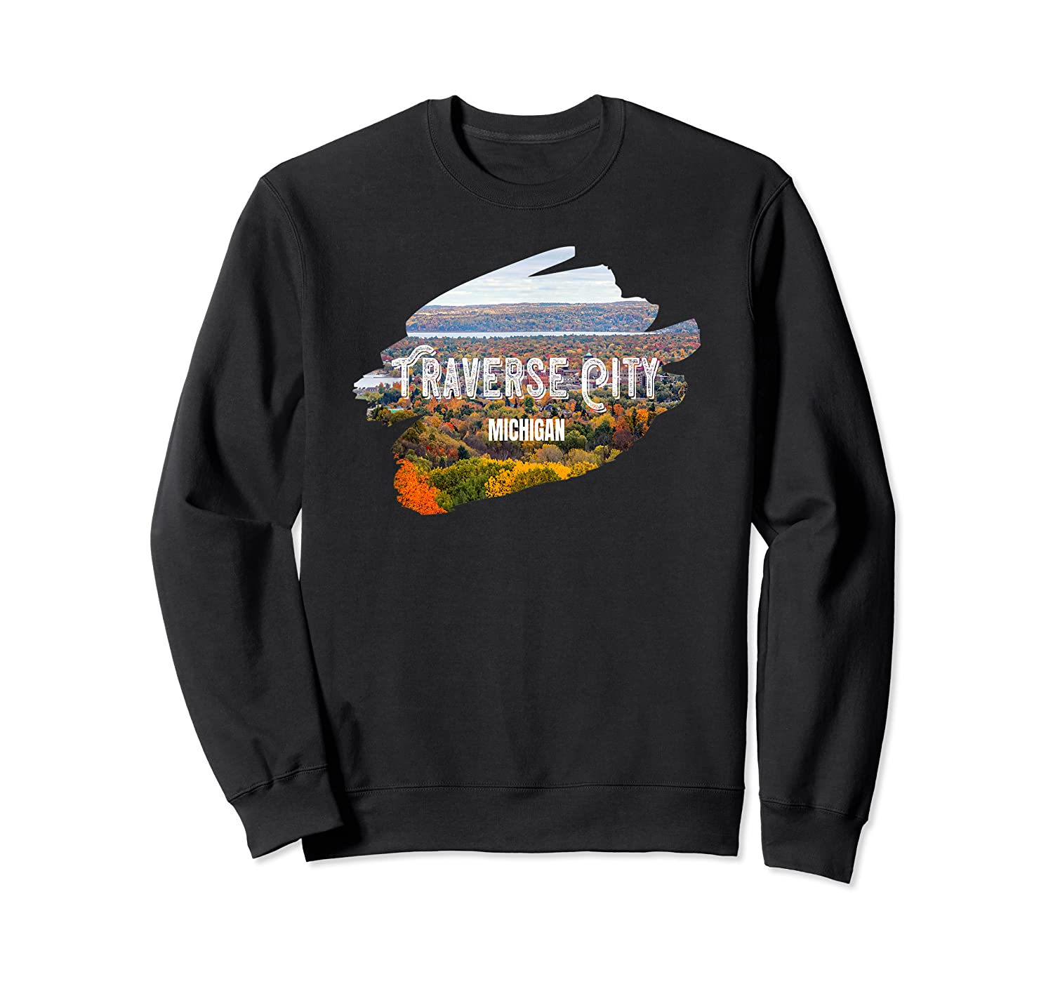 Traverse City Michigan Shirt For Midwest Gifts T Shirt Crewneck Sweater