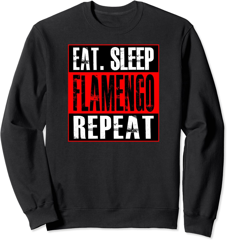 Flamengo Soccer - Camisa Eat Sleep Flamengo Repeat ...