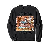 Bathing Burro Shirts Sweatshirt Black