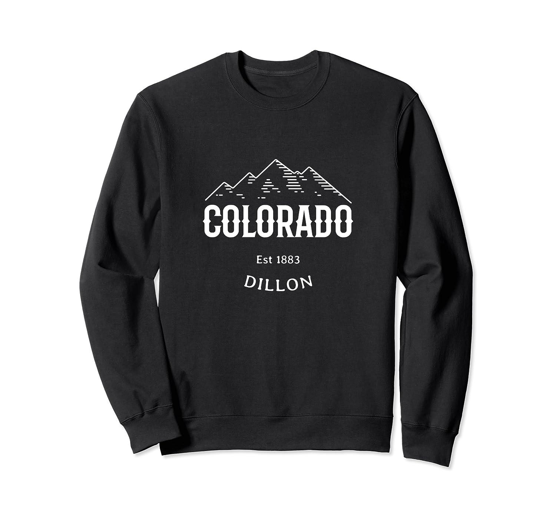 Retro Cool Dillon Colorado Rocky Mountains Novelty Art Shirts