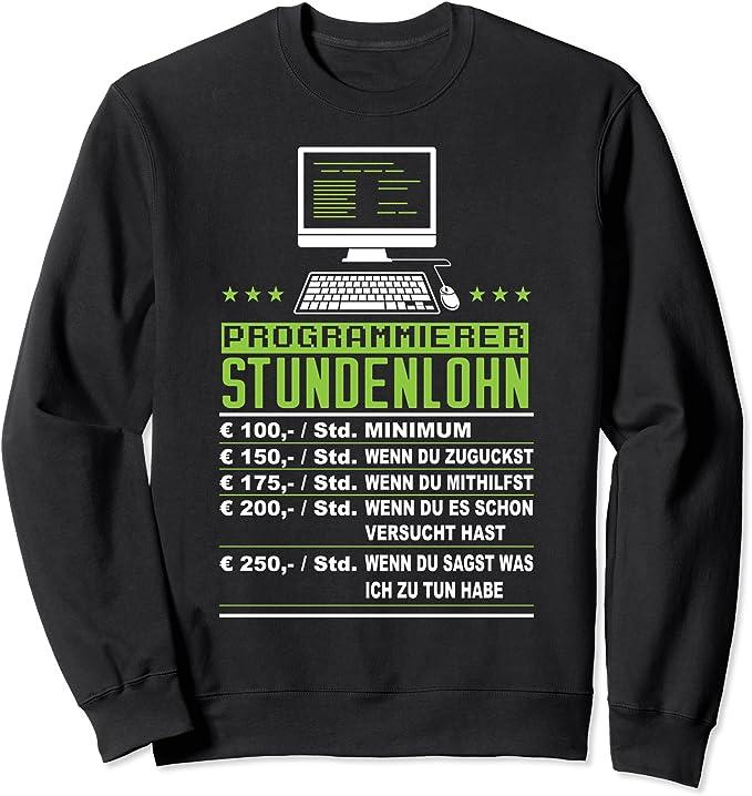 Programmierer Stundenlohn - Informatiker Geschenk Nerd