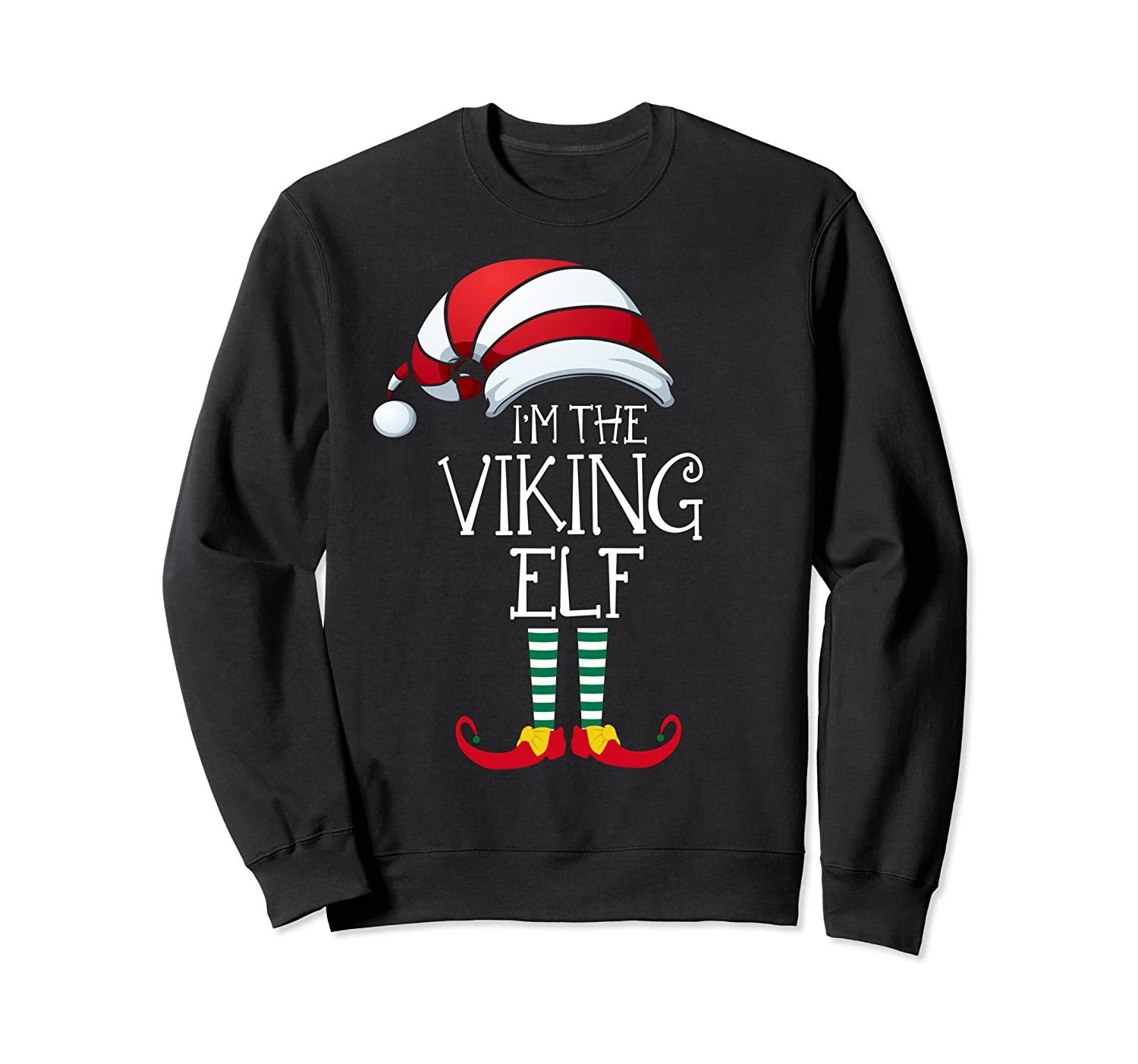I'm The Viking Elf Family Matching Christmas Gift Group Sweatshirt-ANZ