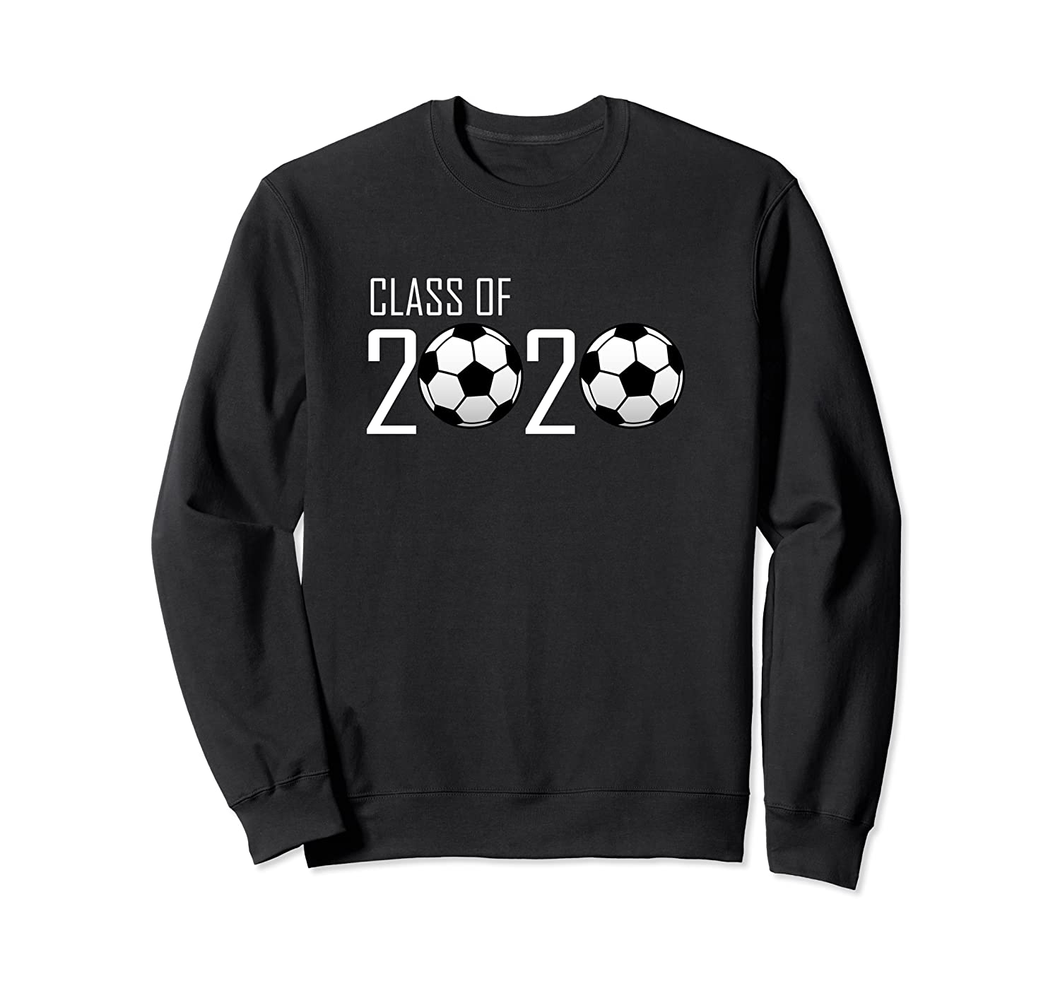 Class of 2020 Graduating Senior Soccer Ball Design Sweatshirt-ANZ