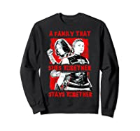Black Widow Family That Spies Together Stays Together Shirts Sweatshirt Black