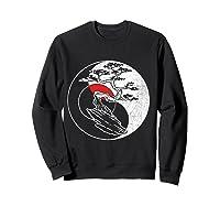 Spirit Soul Yin Yang Bonsai Tree Meditation Shirts Sweatshirt Black