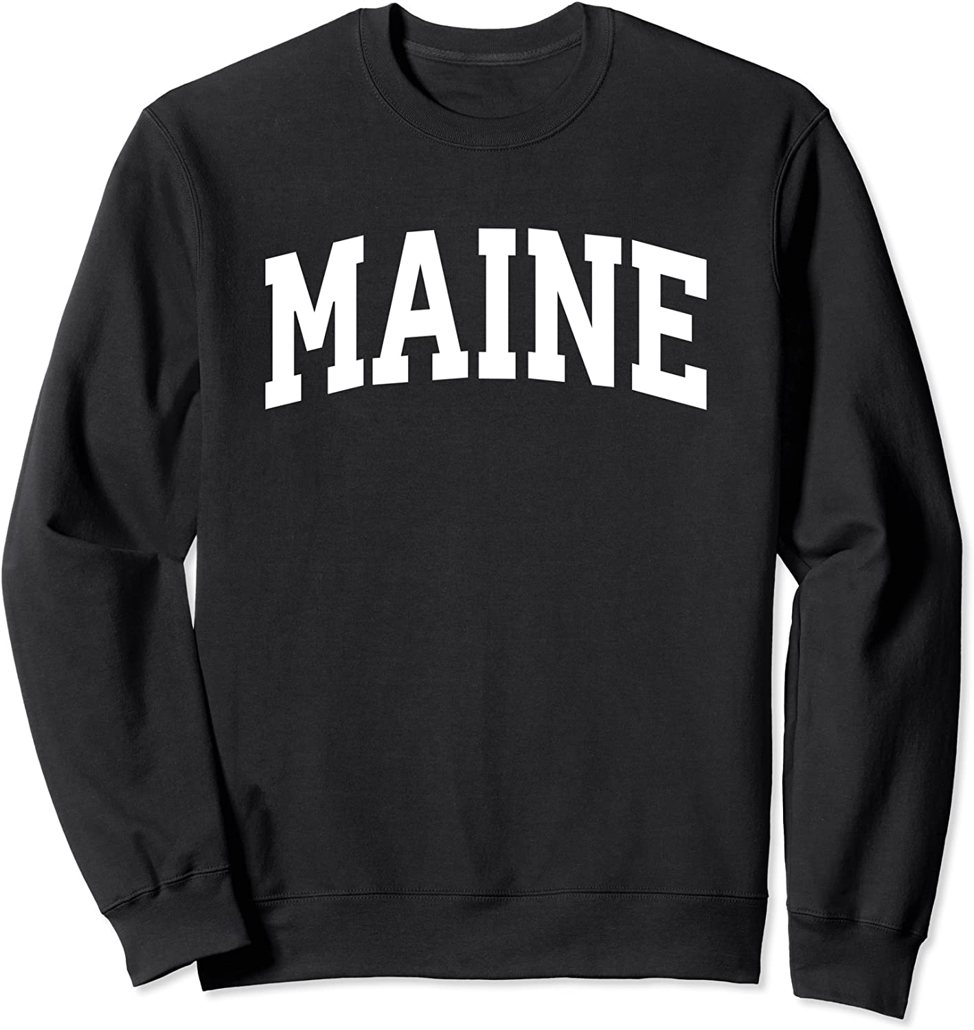 Maine Crewneck Sweatshirt Sports College Gifts Super special price State lowest price Style
