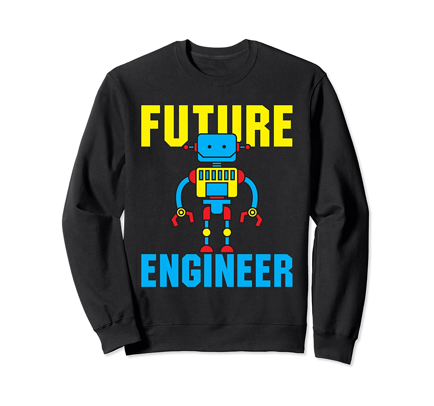 Amazon.com: Future Engineer Funny Cute Futuristic Robot ...