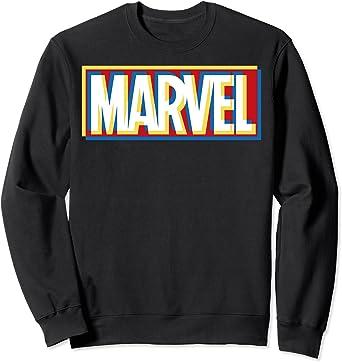 Marvel Trippy Overlay Logo Sweatshirt