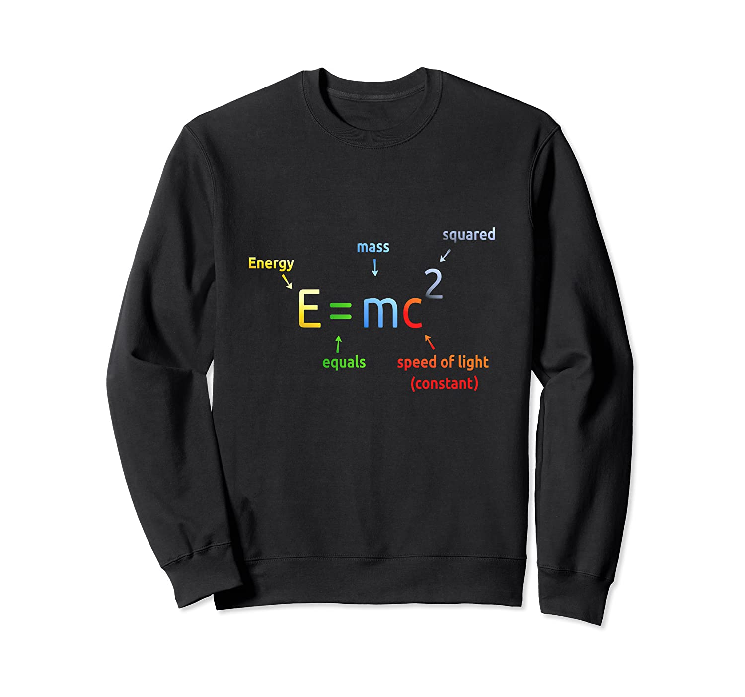 E=mc2 Equation Sweatshirt