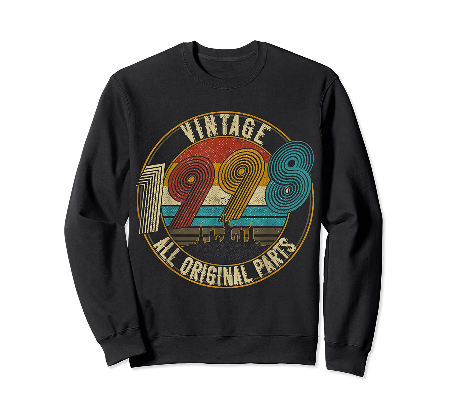 Vintage 21st Birthday Gift Shirt For Classic 1998 T-shirt Crewneck Sweater