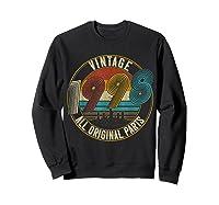 Vintage 21st Birthday Gift Shirt For Classic 1998 T-shirt Sweatshirt Black