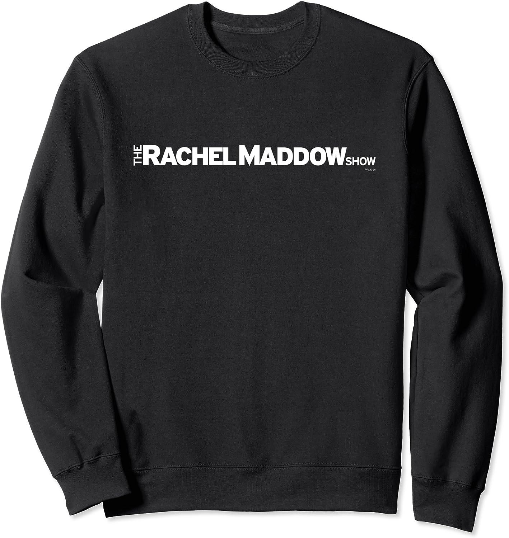 The Rachel Maddow Brand new Show Crew Sweatshirt Bargain - MSNBC Neck